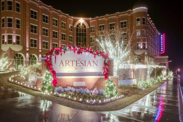 Christmas Lights at The Artesian