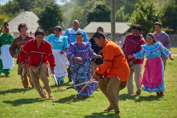 Stickball Game at Chickasaw Cultural Center