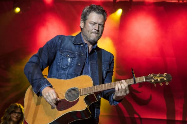 Blake Shelton Performing at Ole Red