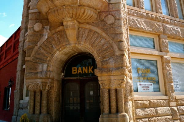 Chickasaw Bank Museum - Tishomingo, OK