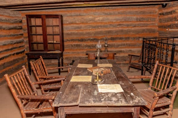 Chickasaw Council House Museum - Tishomingo, OK