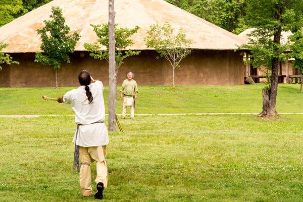 Cherokee Heritage Center Village